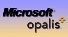 Microsoft and Opalis Logos