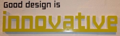 Good Design is ... Innovative