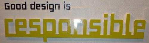 Good Design is ... Responsible