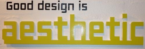 Good Design is ... Aesthetic