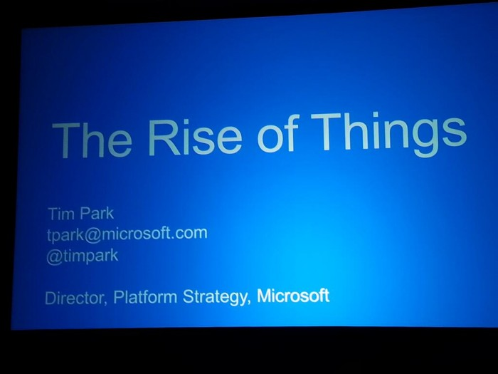 The Rise Of Things - Tim Park